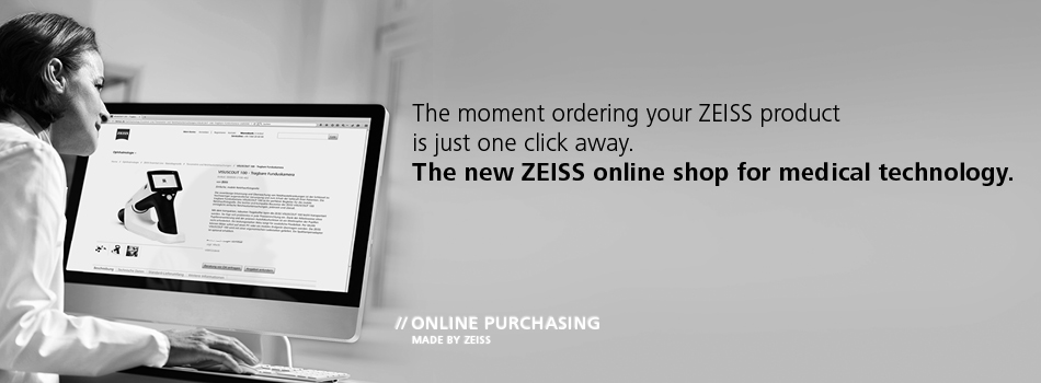 ZEISS online shop for medical technology